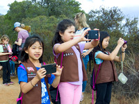 September - Girl Scouts Hike to Foothills Park