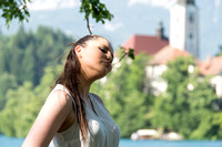 Lake Bled Girl