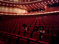 The NCPA Opera House 45 minutes before the performance